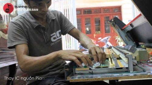 Sửa đàn piano Hà Nội, nguyên nhân và cách khắc phục
