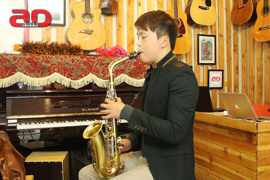 Khóa dạy học kèn Saxophone - Số 1 Hà Nội về chất lượng dạy