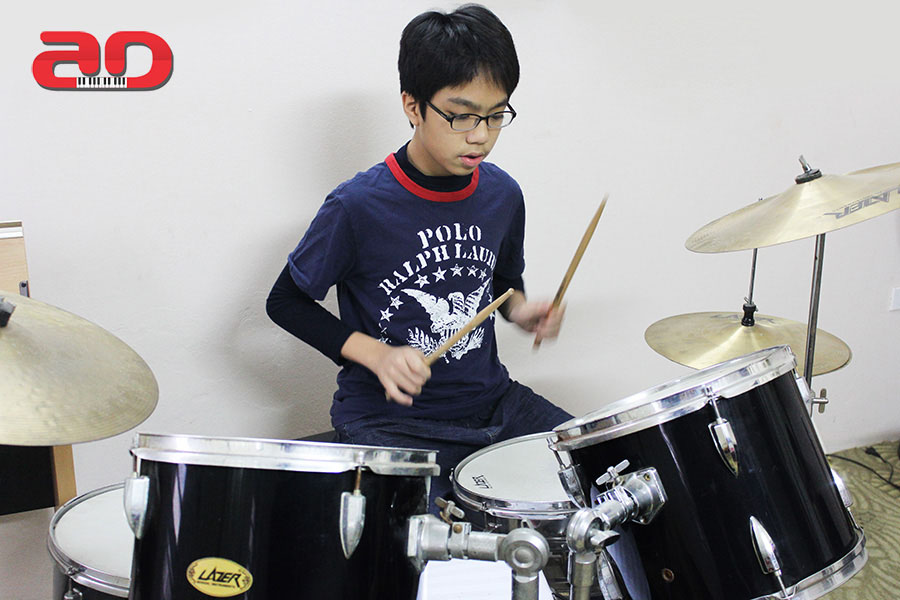 Day hoc trong Drum (2)