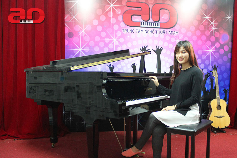 Học chơi đàn Piano cơ bản - Trung tâm nghệ Thuật Adam