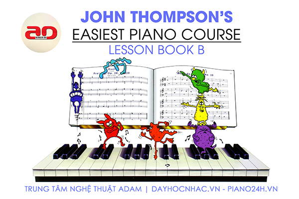 Hướng dẫn học chơi đàn piano cơ bản - Trung tâm nghệ thuật Adam