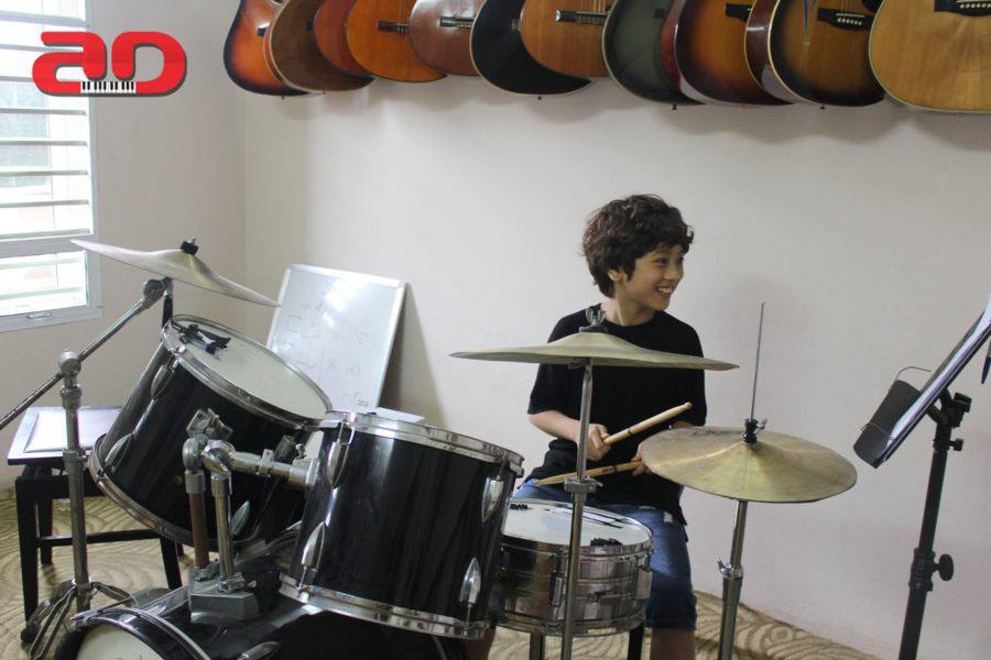 Khóa dạy học trống Drum - Số 1 Hà Nội về chất lượng dạy